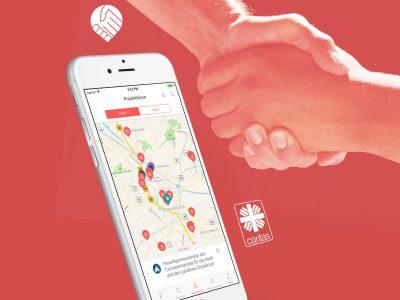 Caritas Anpacker App