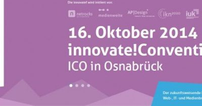 Award-Bewerbungsphase für innovate! 2014 läuft!