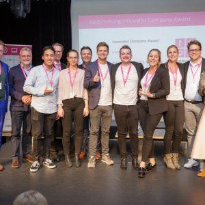 Bild von Gewinnern der innovate 2017 Campus-Awards