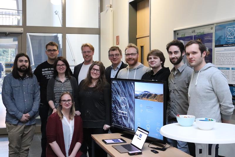 Vielen Dank Dank noch einmal an unsere Software Engineering-Gruppe rund um Projektleiterin Sandra und Prof. Dr. Frank Thiesing!
