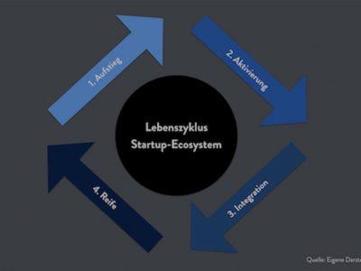 Der Lebenszyklus eines Startup-Ökosystems