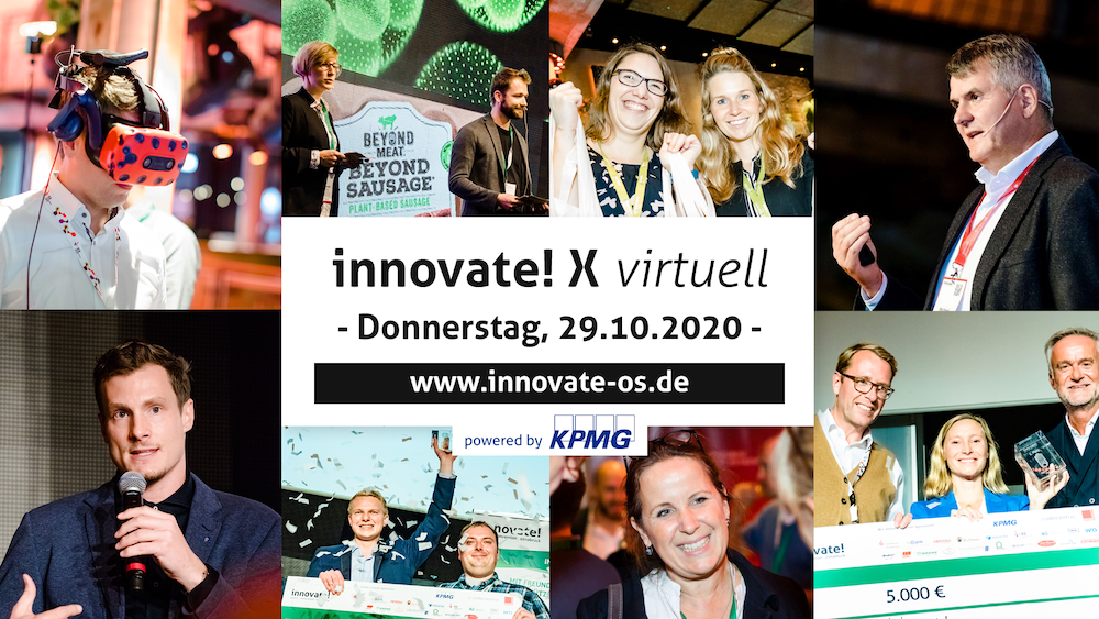 innovate! X virtuell - Donnerstag, 29.10.2020